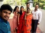 Me with my Family wishing you all a happy Ugadi..
