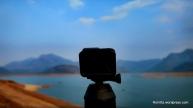 Gopro hero5 with Goscene360 capturing 360degree view of Aliyar dam