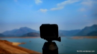 Gopro hero5 with Goscene360 capturing 360degree view of Aliyar dam