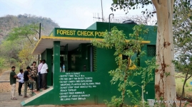 One has to pay fees for park entry ticket & cross this forest check point in order to get an access to the tiger reserve.