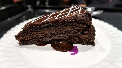 Dark Chocolate Fantasy cake Its delicious dark chocolate cake with layers of rich chocolate cream in between...its jus heaven for chocolovers!! You jus wanna keep diggin into it more n more