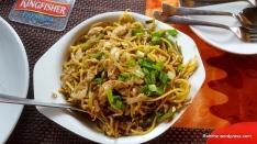 Schezwan chicken noodles