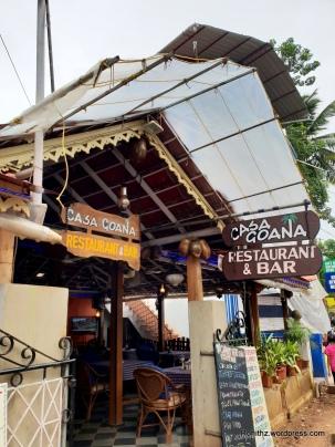 Casa Goana restaurant and Bar, Calangute Road