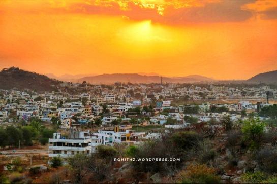 Mahbubnagar_Sunset
